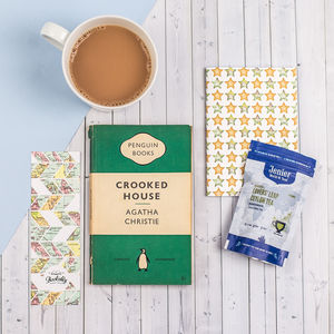 Vintage Book, Tea And Stationery Subscription Gift - more