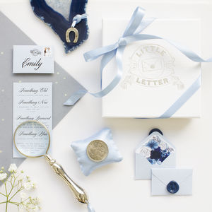 Something Old, New, Borrowed, Blue And A Sixpence - wedding cards