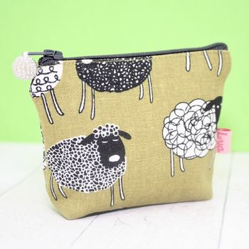 Sheep Make Up Bag