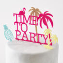 Tropical Personalised Cake Topper