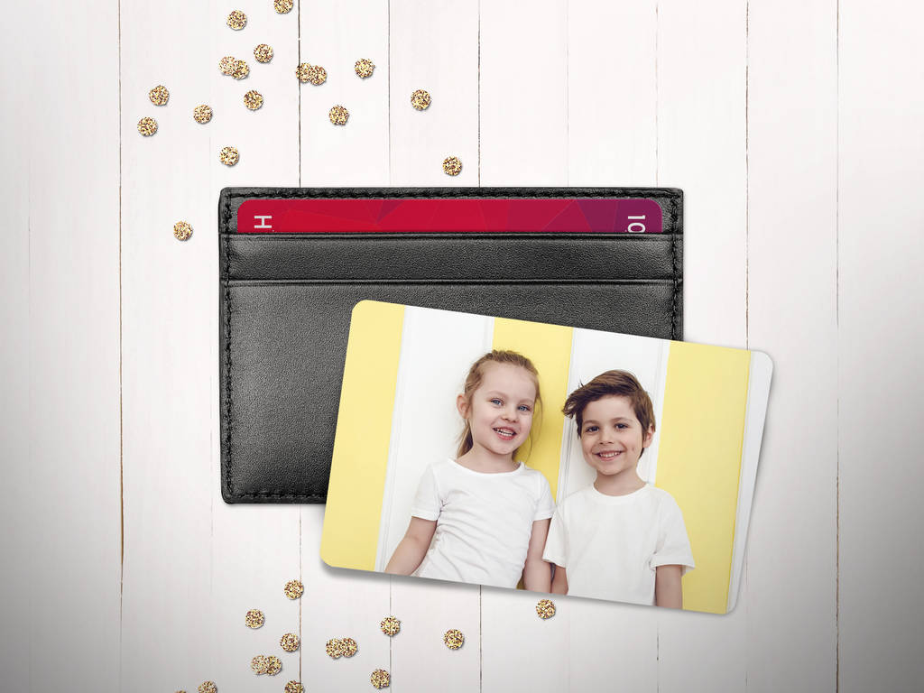 Personalised Dad Photo Wallet Card by Sarah Hurley