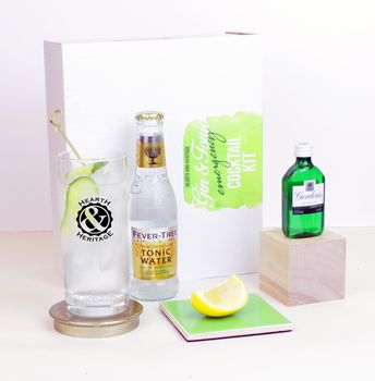 Emergency Gin And Tonic Kit With Glass Keepsake