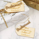Personalised 'Bridesmaid' Gift Tag