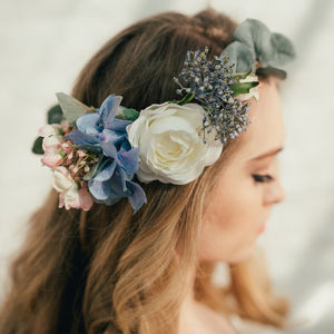 Milly Eucalyptus Flower Crown - wedding fashion
