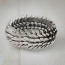 Metal Feather Bracelet