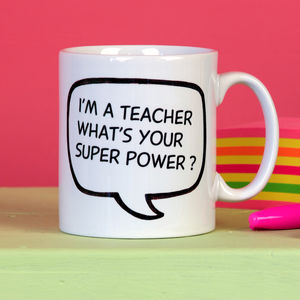 Personalised Teacher's Gift Mug - tableware