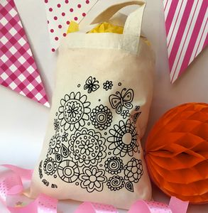 Party Bags To Colour In - children's accessories