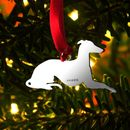 Hallmarked Silver Longdog Decoration