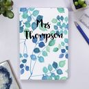 Personalised Notebook For Teachers