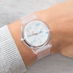 Crystalline Contemporary Ladies Watch - watches