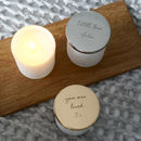 Personalised 'Thank You For Everything You Do' Candle