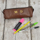 Personalised Embroidered Pencil Case Gift