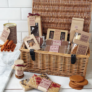 Deluxe Hamper Full Of Sweet Treats - 80th birthday gifts