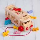 Safari Animal Personalised Shape Sorter Lorry