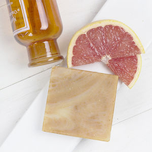 Blood Orange And Pink Grapefruit Palm Oil Free Soap - gifts for her sale