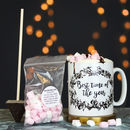 Christmas Personalised Mug With Treats