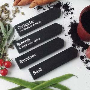 Personalised Slate Garden Markers Set Of Four - gifts for her