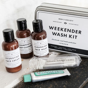 Weekender Washing Gift Set