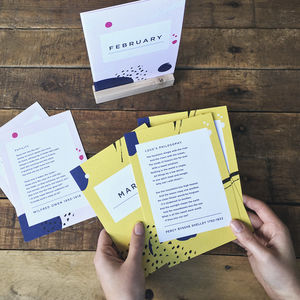 Classic Poetry Subscription - gifts for grandparents