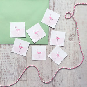 Flamingo Sticker - summer sale