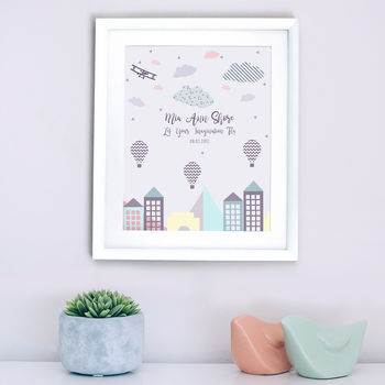 Personalised Imagination Nursery Print