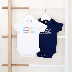 Personalised Perfect Babygrow - babygrows