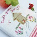 Personalised Garden Notebook Shed