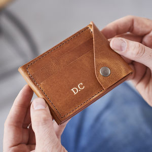Leather Credit Card Wallet - purses & wallets