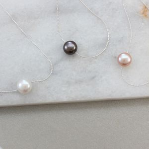 Keimau Single Pearl Necklace