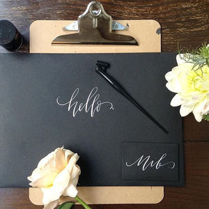 Beginners' Modern Calligraphy Workshop - experiences