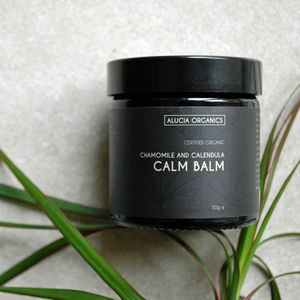 Organic Chamomile And Calendula Calm Balm - hand care