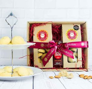Chai Spices Indian Shortbread Gift Set - cakes & sweet treats