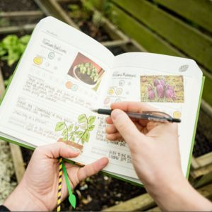 Personalised Gardeners Diary - gifts for him