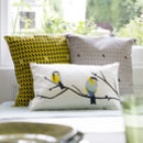 Great Blue Tit Bird Cushion