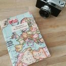 Personalised 2017 Map Diary