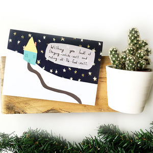 Cozy Times Christmas Card - cards & wrap