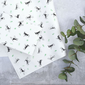 Lino Print Bertie Gift Wrap - shop by category