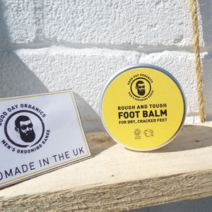 Men's Rough And Tough Organic Foot Balm - health & beauty