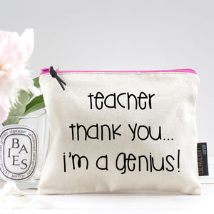 'Thank You Teacher' Pouch