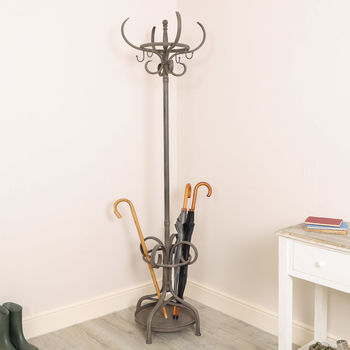 Deauville Distressed Iron Coat Stand