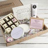 'The Birthday Box' Letterbox Gift Set - food & drink