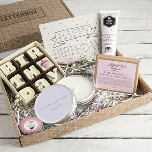 'The Birthday Box' Letterbox Gift Set