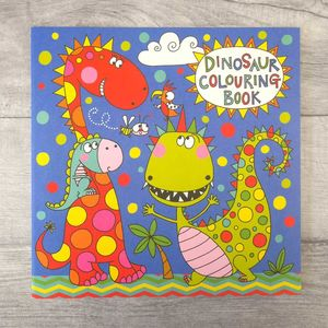 Childrens Dinosaur Colouring Book - toys & games
