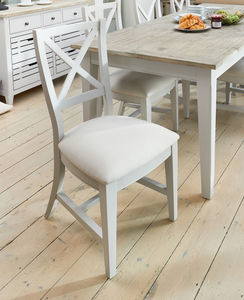 Ridley Grey Dining Chair Set Of Two