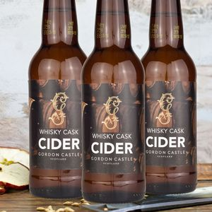 Whisky Cask Cider Trio - edible favours