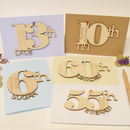 Personalised Wedding Anniversary Meaning Card