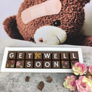 Get Well Soon Feel Better Thinking Of You Chocolate