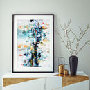 Abstract 33 Limited Edition Fine Art Print A4 Size