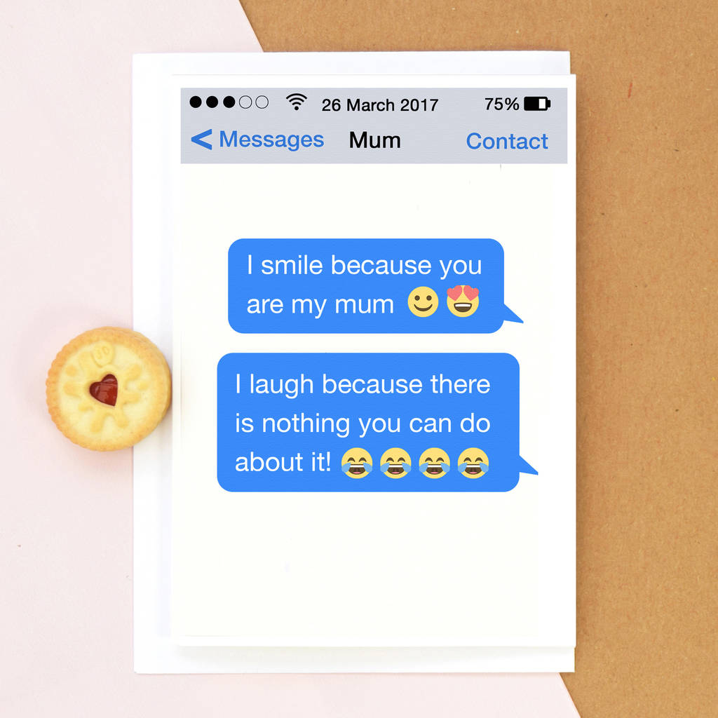 Personalised Funny Mother's Day Card