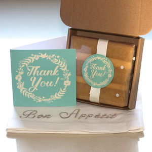 Thank You Cake Card - thank you cards